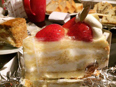 Cake, Suites, Shortcake, Fruit Roll, Chocolate Cake
