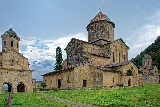 Georgia, Monastery Of Gelati, Monastery, Church