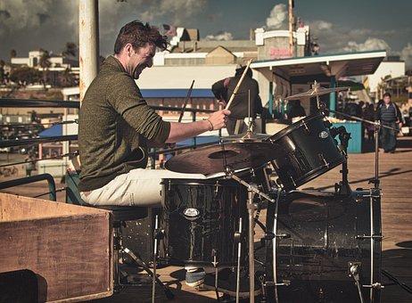 Street Artists, Musician, Drums, Artists, Instrument