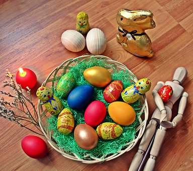 Easter, Eggs, Pasta, Egg, Coloring, Color, Spring, Food