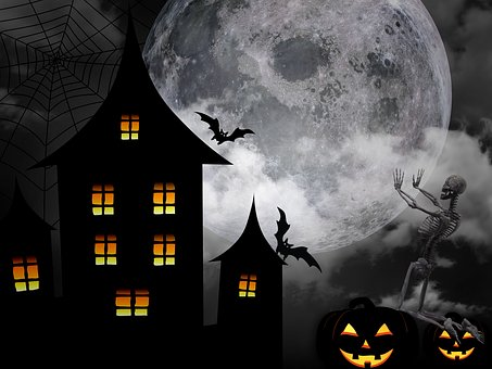 Halloween, Ugh, Fear, Horror, Mysterious, Black