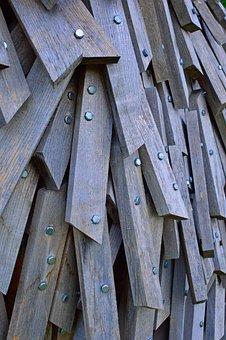 Wood, Wooden Sculpture, Installation, Carving, Folk Art