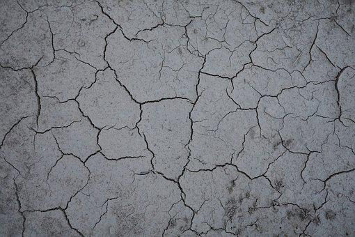 Dry, Ground, Structure, Drought, Cracks, Nature, Earth