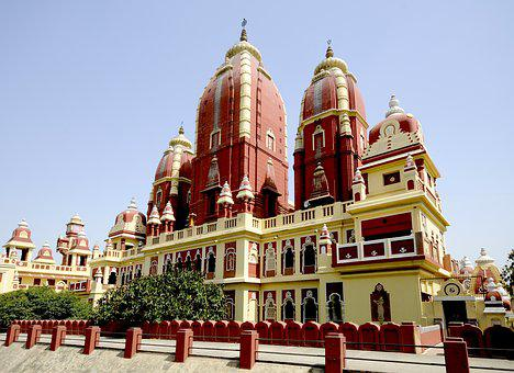 India, Temple, Religion, Travel, Asia, Architecture
