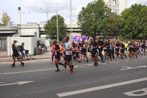Marathon, Jog, Race, Social Life, Integrate, Open, Fun