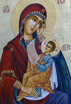 Icon, Image, Maria, Christ, Jesus, Madonna, Orthodox