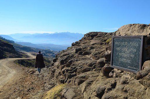 Lesotho, Gate Of Paradise Pass, Malealea, Landscape