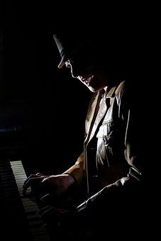 Music, Piano, Low Key, Melody, Keyboard, Instrument