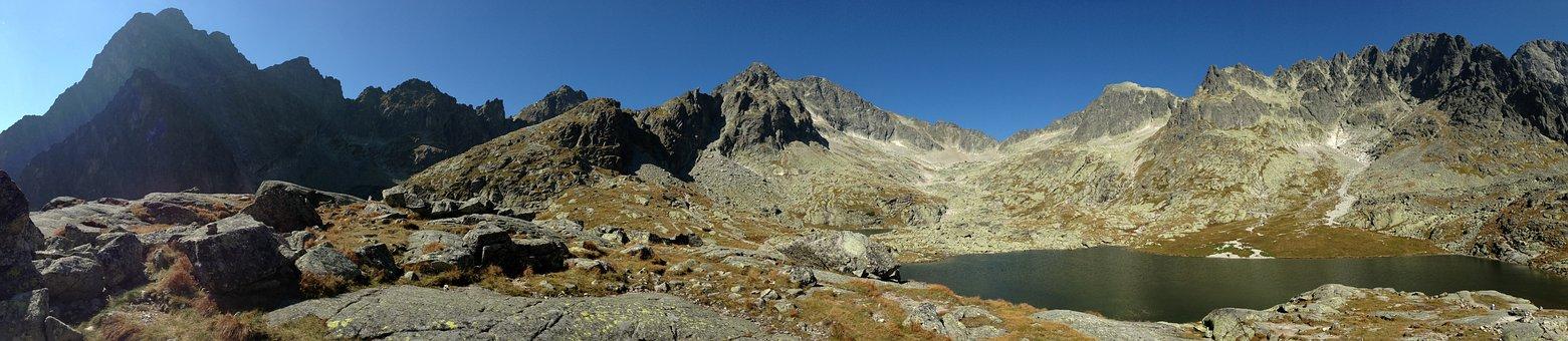 Tatry, Mountains, Panorama, Mood, Tops, Lake, Landscape