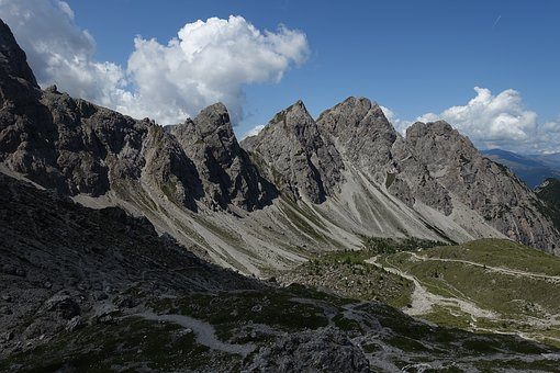 Dolomites, East Tyrol, Mountains, Nature