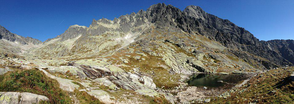 Tatry, Panorama, Mountains, Landscape, Nature, Tops