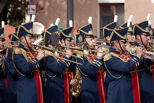 Orchestra, Military, Parade, Play, Concert, Music