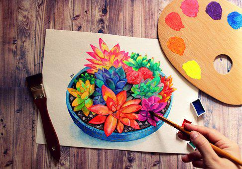 Drawing, Painting, Draw, Paper, Portrait, Aquarelle