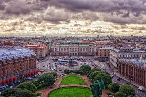 City, St Petersburg, Russia, Petersburg, Famous, Travel