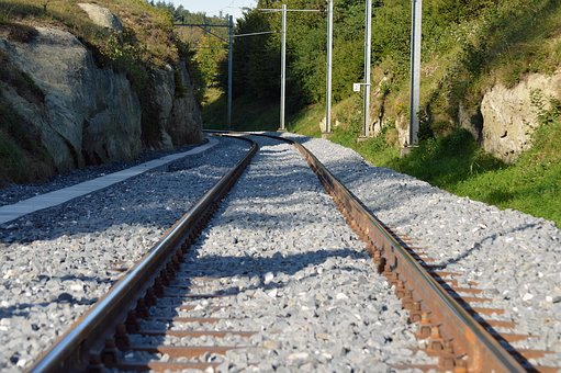 Seemed, Track, Railway, Railroad Tracks, Rail Traffic