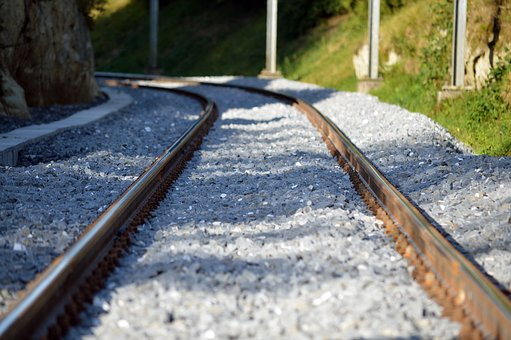 Rails, Track, Railway, Railroad Tracks, Rail Traffic