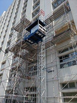 Monte-materials, Lift Construction, Hoist, Scaffolding