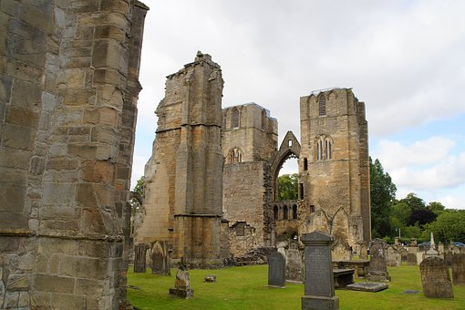 Elgin, Elgin Cathedral, Scotland, Cathedral, Graves