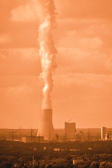 Cooling Tower, Smoke, Water Vapor, Industry, Chimney