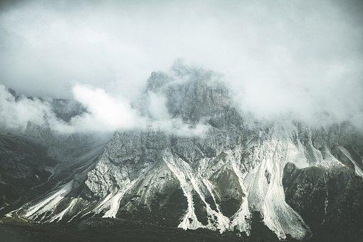 Mountain, South Tyrol, Dolomites, Nature, Italy