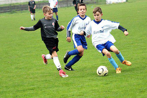 Football, Pupils, Action, Younger Pupils, Sport, Match