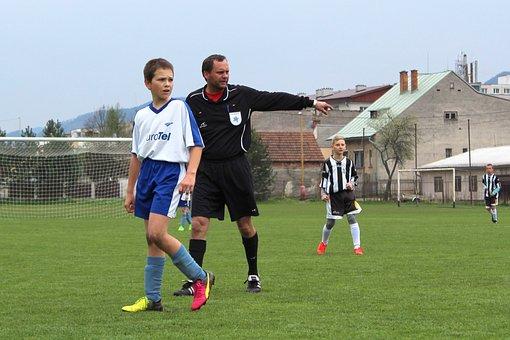 Football, Match, Player, The Referee, Pupils