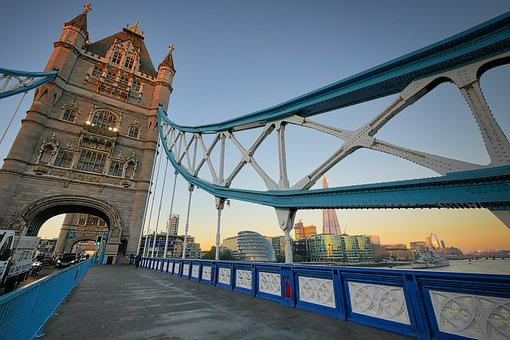 Tower Bridge, London, Bridge, Architecture, England