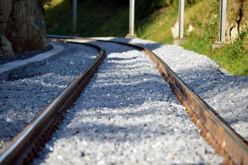 Seemed, Track, Railway, Railroad Tracks, Rail Traffic