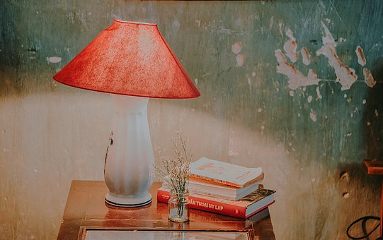 Lamps, Vintage, Books, Retro, Antique, Old, Knowledge