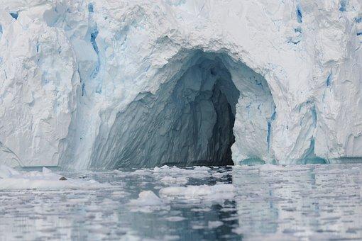 Iceberg, Cave, Sea, Scenic, Grotto, Water, Coast