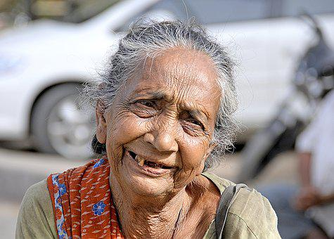 India, Lady, Old, Woman, Female, Travel, Poor, Adult