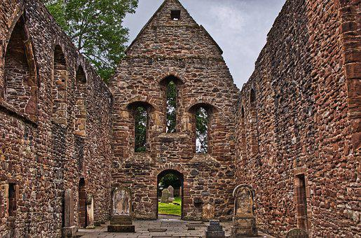 Beauly Priory, Monastery, Ruin, Architecture, Masonry