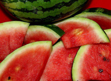 Watermelon, Fruit, Vitamins, Food, Healthy, Red, Fresh