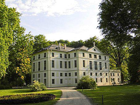 Greiz, On The Lower Castle, Thuringia Germany, Park