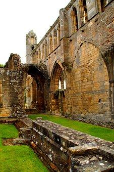 Elgin, Cathedral, Scotland, Ruin, Historically