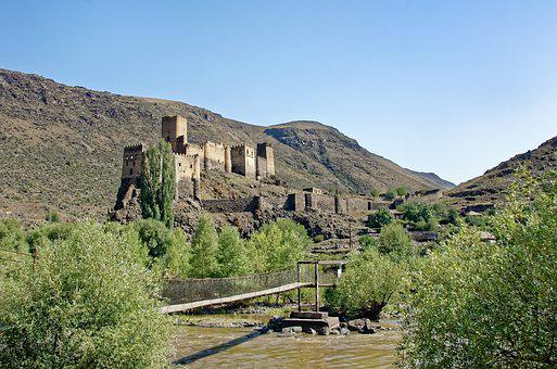 Georgia, Khertvisi Fortress, Castle, Historically
