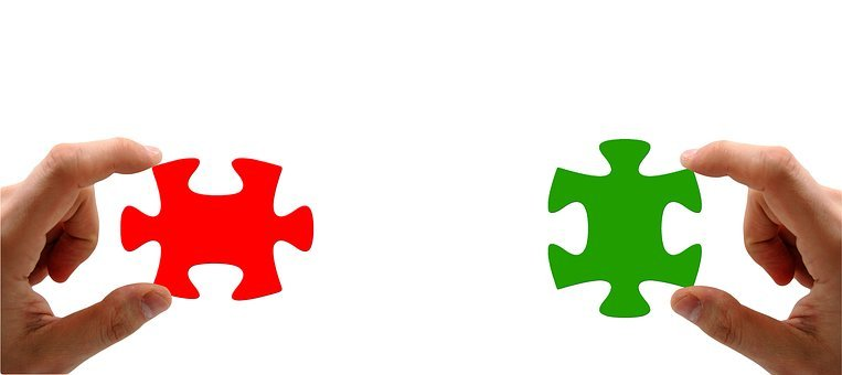Hand, Keep, Puzzle, Red, Green, Finger, Match, Insert