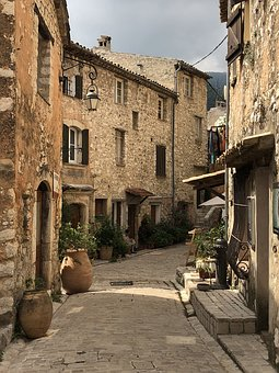 Tourrettes-sur-loup, France, French Riviera, Old Town