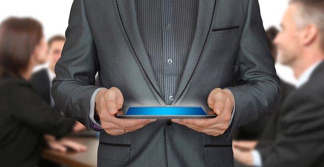 Tablet, Team, Teamwork, Vision, Idea, Plan, Target