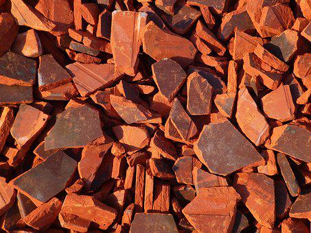 Tile, Broken, Shard, Roof, Red, Brown, Old, Truss