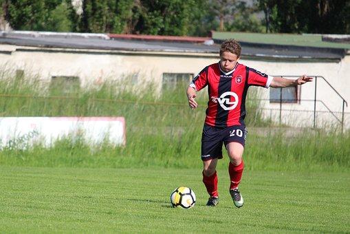Football, Match, Men, Seniors, Sport, Ball, Rozohrávka