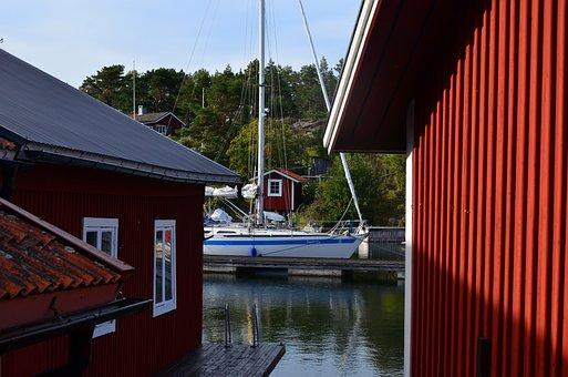 Sweden, Sailing Boat, Archipelago
