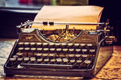 Typewriter, Tap, Office, Write, Nostalgia, Antique
