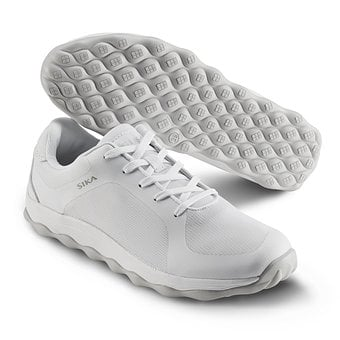 The Barber's Shoes White, Service Shoes, Sika Shoes
