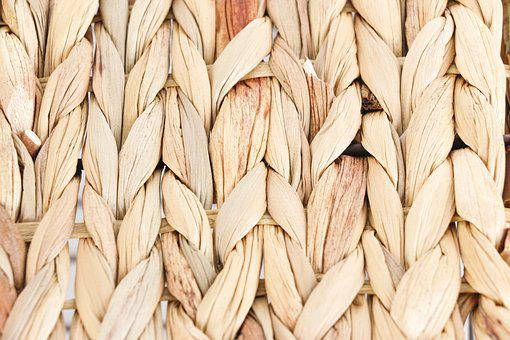 Bulrush, Rushes, Weave, Straw Basket, Grass Texture