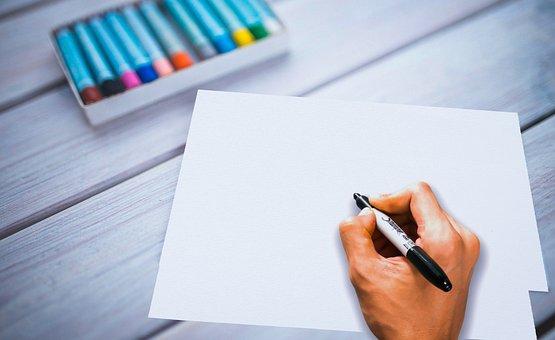 Writing, Hand, Write, Pen, Handwriting, School, Desk