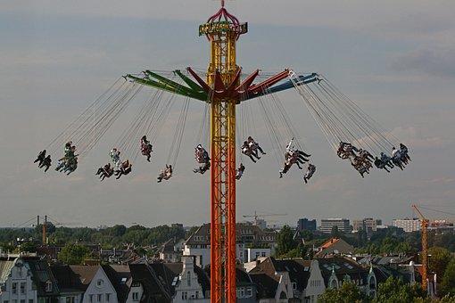 Fair, Carousel, Chain Carousel, Year Market, Pleasure