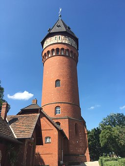 Water Tower, Castle, Architecture, Building, Old