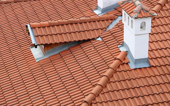 Bulgaria, Veliko Tarnovo, Roof, Tiles, Chimney