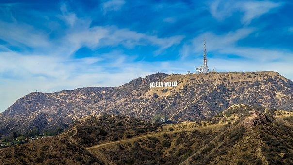 Usa, Hollywood, California, America, Travel, Famous